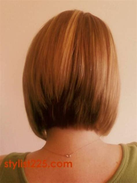 inverted bob hairstyle pictures rear view long inverted bob hairstyles back view