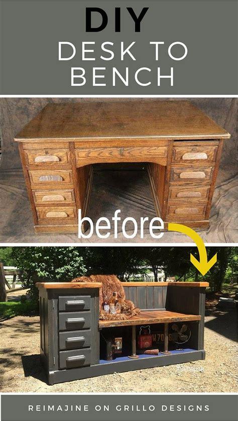diy desk  bench grillo designs