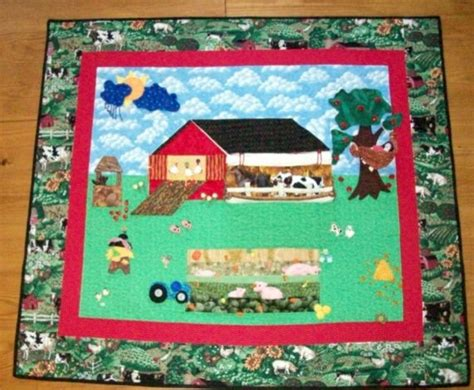 Houzz Bedroom Quilts On The Farm Quilt By Gift Quilts Contemporary