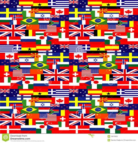 flags of the world background world flags background stock photo image 16070920