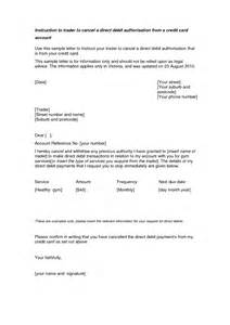 Cancellation Of Credit Card Insurance Letter Credit Card Cancellation Letter Format Best Template
