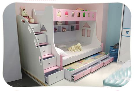 girl bedroom furniture clearance free shipping kids furniture bedroom set children bunk beds with stairs for boy girl