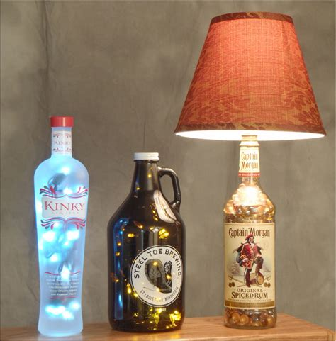 Recycled Home Decor Ideas by Bottle Lamp Amp Diy Bottle Crafts Videos Amp Inspirations
