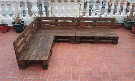 pallet furniture patio pallet patio terrace sectional furniture pallet