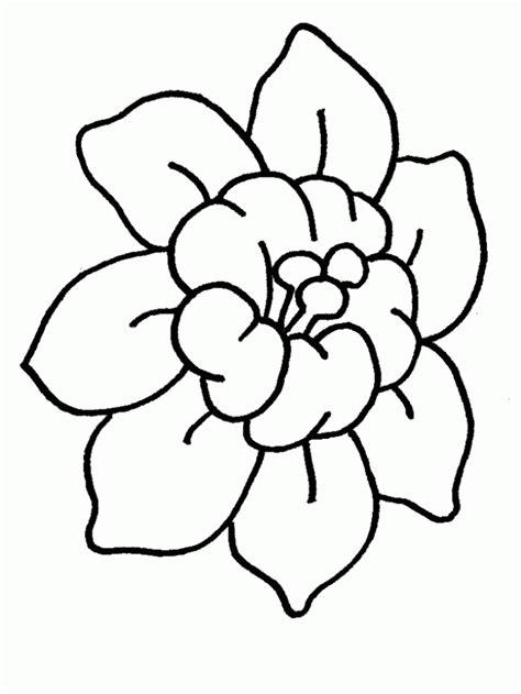 flores para dibujar faciles pintar im genes flor f 225 cil de colorear