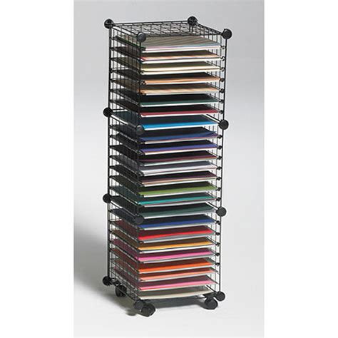 Paper Storage Rack by Organize It Home Office Garage Laundry Bath