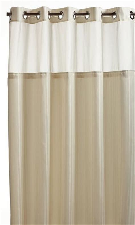 hookless fabric shower curtain with built in liner hookless herringbone built in fabric liner fabric shower