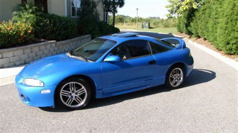 mitsubishi eclipse 1997 1997 mitsubishi eclipse gst blue for sale