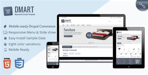 zen layout drupal dmart clean and responsive drupal commerce theme by