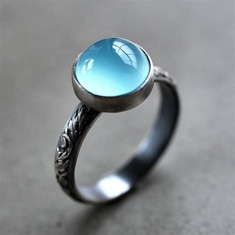 Chalcedony O Ring chalcedony rings for women other dresses dressesss