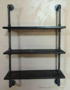 Meuble Salle De Bain En Bois 6460 by Wood Shelving Unit Wall Shelf Industrial Shelves Rustic