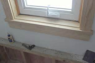 Window Sill Trim How To Install Craftsman Style Window Trim Teal And Lime