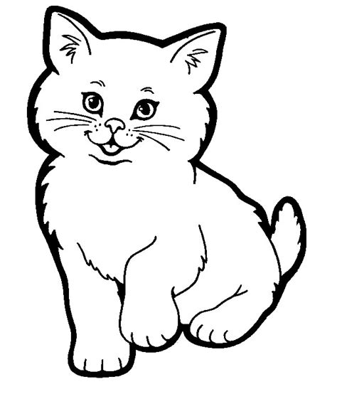 cat shape template animal templates free premium