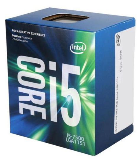Intel I5 7500 by Intel I5 7500 Processor Buy Intel I5 7500