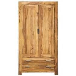 armoire penderie wood 2 portes 2 tiroirs achat vente