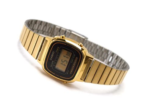 orologio casio oro donna orologio donna digitale casio la670wga 1 la tua moda