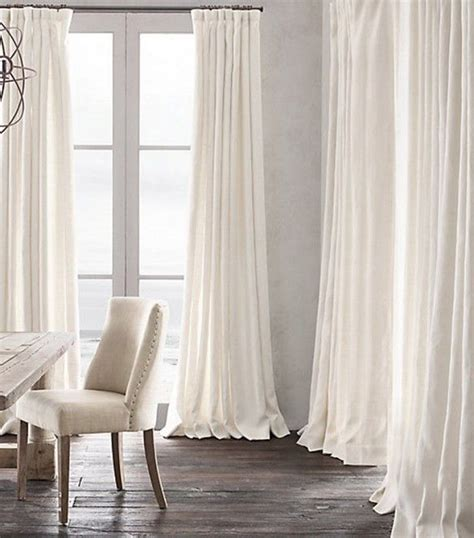 long white curtains 25 best ideas about white linen curtains on pinterest