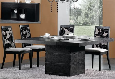 modern dining room table set modern dining table home and interior design