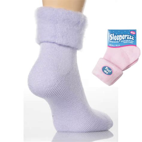 Bed Socks by Soft Thermal Fluffy Bed Sock Suzanne Charles