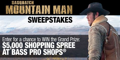 American Outdoor Adventure Sweepstakes - bass pro shops mountain man sweepstakes sweepstakesbible