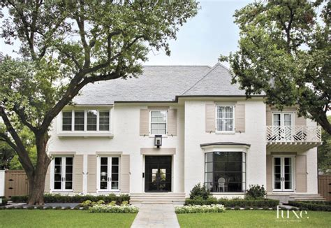 Old Southern Plantation House Plans by Traditional White Brick Front Elevation Luxe Interiors