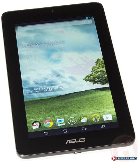 Tablet Asus Acer three 7 inch tablets acer asus and prestigio hardware info united kingdom