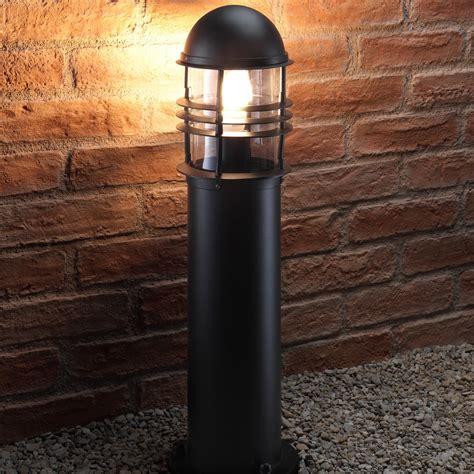 Weather Resistant Outdoor Lighting Auraglow Weather Resistant Outdoor Garden Path Bollard Traditional Post Light Ebay