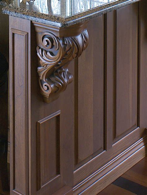 Corbels & Bar Supports   Cabinet Joint