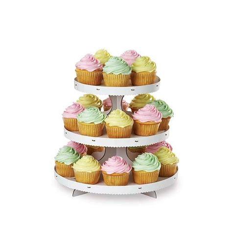 3 Tier White Cupcake Cake Stand wilton 3 tier white cupcake stand holds 24 cupcakes