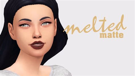 matte makeup my sims 4 matte makeup collection by nessiescc