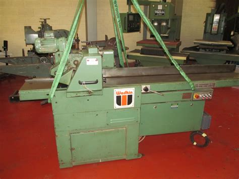 wadkin woodworking machinery wadkin par mk2 4 side planer vwm ltd