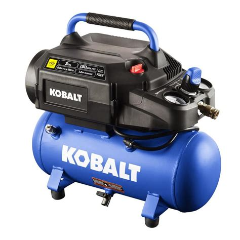 kobalt  gallon portable electric hot dog air compressor