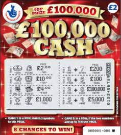 Chances Of Winning Money On Scratch Cards - national lottery scratchcards remain on sale after 163 100 000 jackpot is scooped