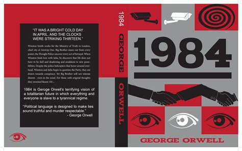 design a book jacket for 1984 1984 remake book cover despierta nyc