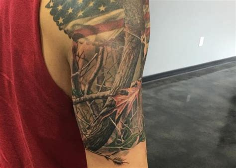 camo tattoo sleeve camo sleeve www pixshark images galleries