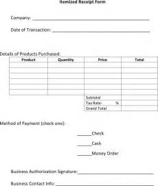 How To Make A Receipt Template by The Itemized Receipt Template 2 Can Help You Make A
