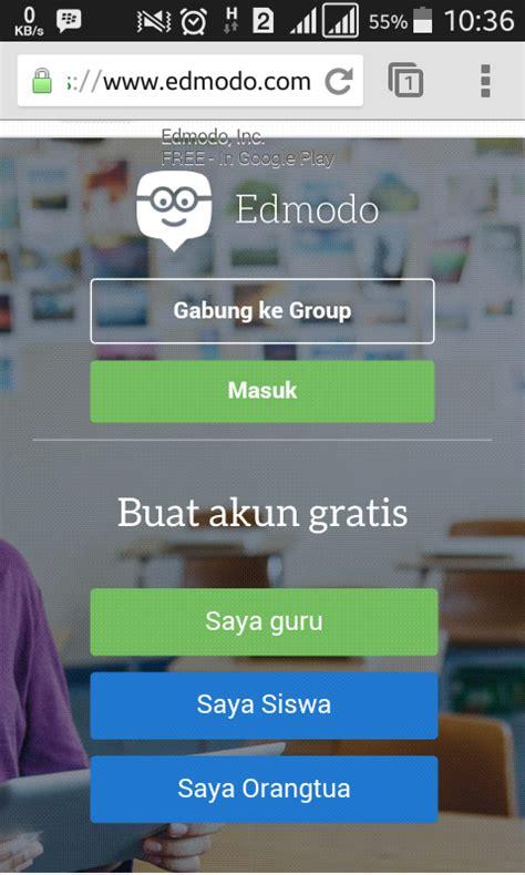 edmodo daftar cara mendaftar edmodo di android