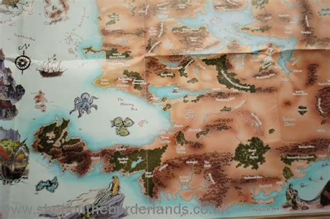 map of faerun faerun map poster map of faerun