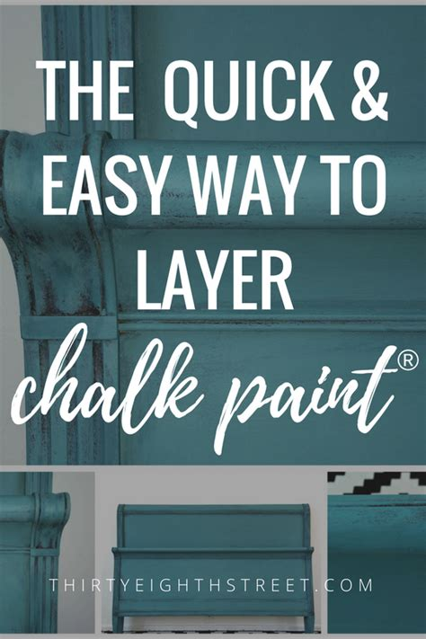 chalk paint layering colors modern painted nightstands with country chic paint