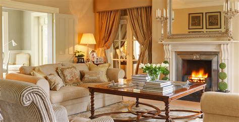 country homes and interiors recipes country house ireland traditional living room