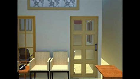 desain rumah praktek dokter denah dan desain interior rumah praktek dokter youtube
