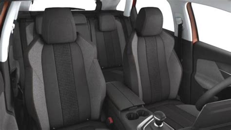 peugeot 3008 interior seat peugeot 3008 2017 dimensions boot space and interior