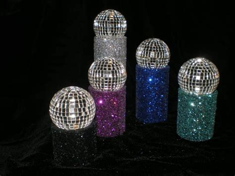 centerpiece disco set of 5