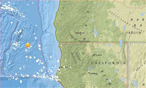 Earthquake Oregon | two moderately strong earthquakes hit off oregon the