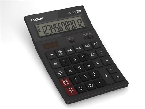 Kalkulator Canon As 120 R canon lanza su nueva serie de calculadoras recicladas