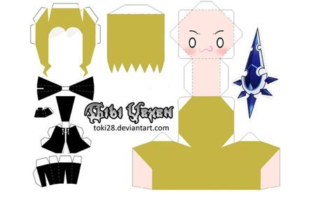 Chibi Papercraft Maker - 1000 images about make your own chibi on