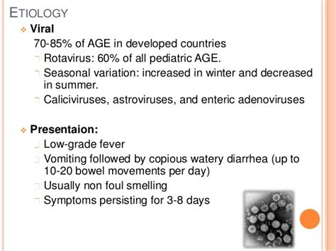 Foul Smelling Watery Stool by Acute Gastroenteritis In Children Ag