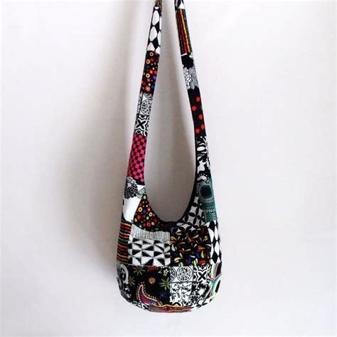 Patchwork Hobo Bag Pattern - image detail for patchwork hobo bag boho bag sling bag