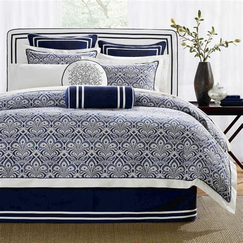 navy blue king size comforter sets blue navy white king comforter set 10 pc this is my favorite but expensive around 500 for