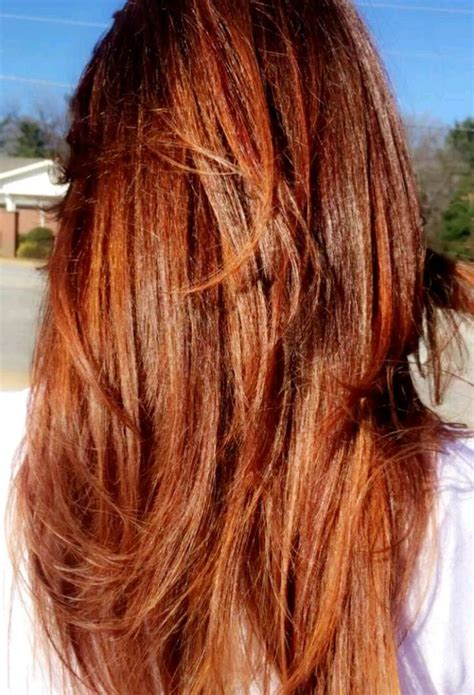 different colour of brown and copper highlights brown hair with blonde red highlights dark copper best